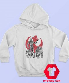 Star Wars The Rise of Droids Robot Unisex Hoodie 1