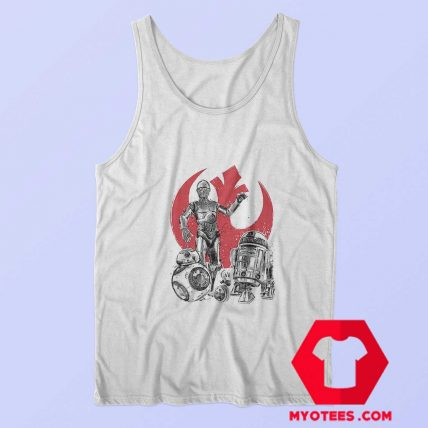 Star Wars The Rise of Droids Robot Unisex Tank Top